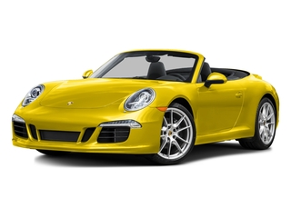 Racing Yellow 2016 Porsche 911 Pictures 911 Cabriolet 2D GTS H6 photos front view