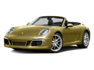 Lime Gold Metallic 2016 Porsche 911 Pictures 911 Cabriolet 2D GTS H6 photos front view