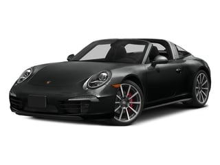 Jet Black Metallic 2016 Porsche 911 Pictures 911 Coupe 2D 4S Targa AWD photos front view