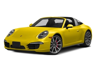 Racing Yellow 2016 Porsche 911 Pictures 911 Coupe 2D 4S Targa AWD photos front view