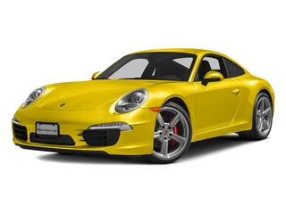 Racing Yellow 2016 Porsche 911 Pictures 911 Coupe 2D S H6 photos front view