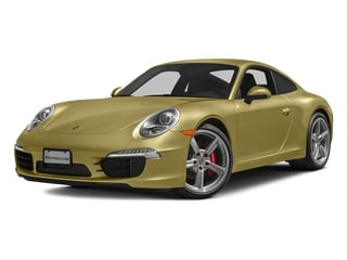 Lime Gold Metallic 2016 Porsche 911 Pictures 911 Coupe 2D S H6 photos front view