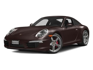 Mahogany Metallic 2016 Porsche 911 Pictures 911 Coupe 2D S H6 photos front view