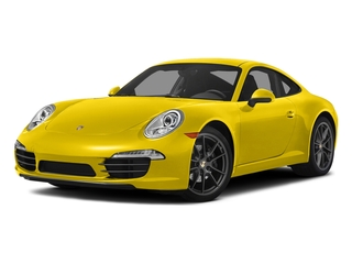 Racing Yellow 2016 Porsche 911 Pictures 911 Coupe 2D H6 photos front view