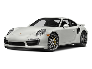 White 2016 Porsche 911 Pictures 911 Coupe 2D Turbo AWD H6 photos front view