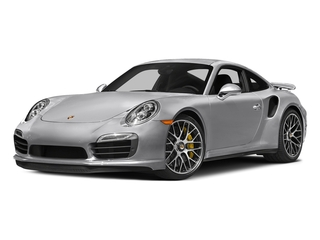 GT Silver Metallic 2016 Porsche 911 Pictures 911 Coupe 2D Turbo AWD H6 photos front view