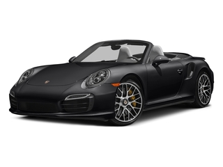 Black 2016 Porsche 911 Pictures 911 Cabriolet 2D AWD H6 Turbo photos front view