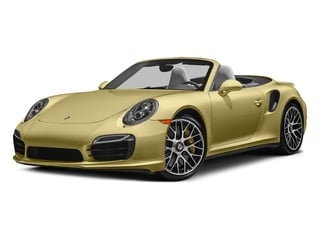 Lime Gold Metallic 2016 Porsche 911 Pictures 911 Cabriolet 2D AWD H6 Turbo photos front view