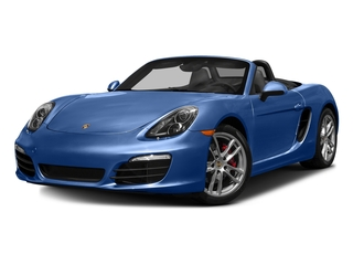 Sapphire Blue Metallic 2016 Porsche Boxster Pictures Boxster Roadster 2D GTS H6 photos front view