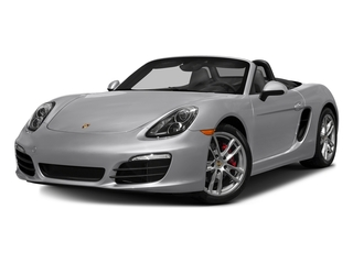 GT Silver Metallic 2016 Porsche Boxster Pictures Boxster Roadster 2D S H6 photos front view