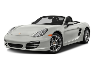 White 2016 Porsche Boxster Pictures Boxster Roadster 2D H6 photos front view