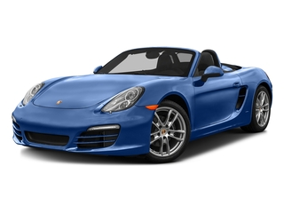 Sapphire Blue Metallic 2016 Porsche Boxster Pictures Boxster Roadster 2D H6 photos front view
