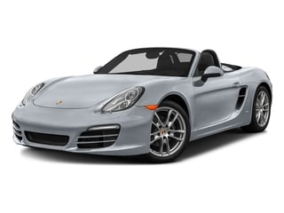 Rhodium Silver Metallic 2016 Porsche Boxster Pictures Boxster Roadster 2D H6 photos front view
