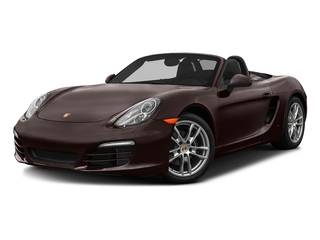 Mahogany Metallic 2016 Porsche Boxster Pictures Boxster Roadster 2D H6 photos front view