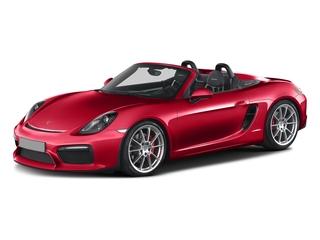 Guards Red 2016 Porsche Boxster Pictures Boxster Roadster 2D Spyder H6 photos front view
