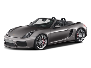 Agate Gray Metallic 2016 Porsche Boxster Pictures Boxster Roadster 2D Spyder H6 photos front view