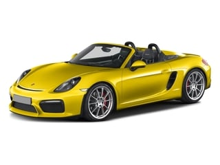 Racing Yellow 2016 Porsche Boxster Pictures Boxster Roadster 2D Spyder H6 photos front view