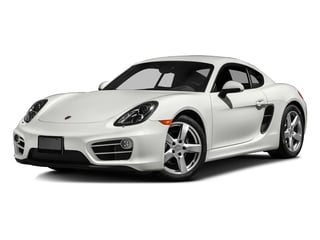 White 2016 Porsche Cayman Pictures Cayman Coupe 2D H6 photos front view