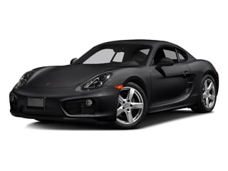 Black 2016 Porsche Cayman Pictures Cayman Coupe 2D H6 photos front view