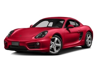 Guards Red 2016 Porsche Cayman Pictures Cayman Coupe 2D H6 photos front view