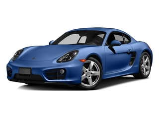 Sapphire Blue Metallic 2016 Porsche Cayman Pictures Cayman Coupe 2D H6 photos front view