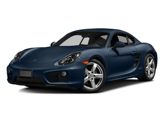 Dark Blue Metallic 2016 Porsche Cayman Pictures Cayman Coupe 2D H6 photos front view