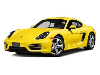 Racing Yellow 2016 Porsche Cayman Pictures Cayman Coupe 2D H6 photos front view