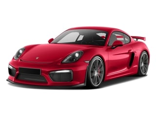 Guards Red 2016 Porsche Cayman Pictures Cayman Coupe 2D GT4 H6 photos front view