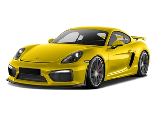 Racing Yellow 2016 Porsche Cayman Pictures Cayman Coupe 2D GT4 H6 photos front view