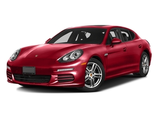 Carmine Red 2016 Porsche Panamera Pictures Panamera Hatchback 4D S Exec AWD V8 Turbo photos front view