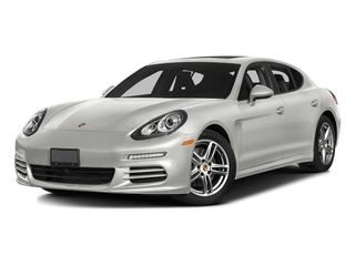 White 2016 Porsche Panamera Pictures Panamera Hatchback 4D 4S Exec AWD V6 Turbo photos front view