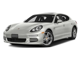 White 2016 Porsche Panamera Pictures Panamera Hatchback 4D S Exec AWD V8 Turbo photos front view