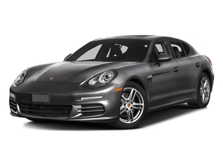 Carbon Gray Metallic 2016 Porsche Panamera Pictures Panamera Hatchback 4D S Exec AWD V8 Turbo photos front view