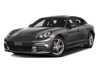 Carbon Gray Metallic 2016 Porsche Panamera Pictures Panamera Hatchback 4D 4S Exec AWD V6 Turbo photos front view