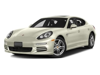 Carrara White Metallic 2016 Porsche Panamera Pictures Panamera Hatchback 4D 4 AWD H6 photos front view