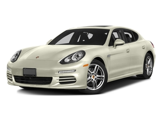 Carrara White Metallic 2016 Porsche Panamera Pictures Panamera Hatchback 4D S Exec AWD V8 Turbo photos front view