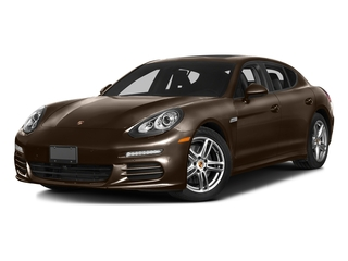 Chestnut Brown Metallic 2016 Porsche Panamera Pictures Panamera Hatchback 4D 4 AWD H6 photos front view