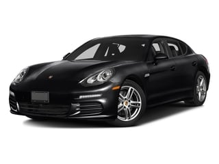 Black 2016 Porsche Panamera Pictures Panamera Hatchback 4D S Exec AWD V8 Turbo photos front view