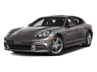 Agate Gray Metallic 2016 Porsche Panamera Pictures Panamera Hatchback 4D S Exec AWD V8 Turbo photos front view