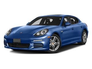 Sapphire Blue Metallic 2016 Porsche Panamera Pictures Panamera Hatchback 4D 4 AWD H6 photos front view