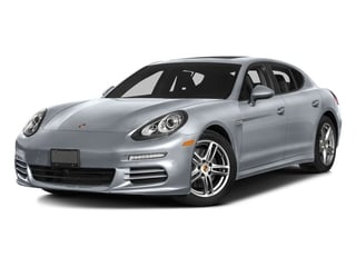 Rhodium Silver Metallic 2016 Porsche Panamera Pictures Panamera Hatchback 4D 4 AWD H6 photos front view