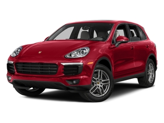 Carmine Red 2016 Porsche Cayenne Pictures Cayenne Utility 4D AWD V6 T-Diesel photos front view