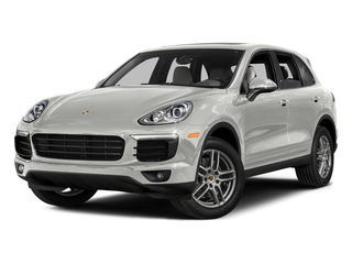 White 2016 Porsche Cayenne Pictures Cayenne Utility 4D AWD V6 T-Diesel photos front view