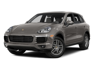 Meteor Gray Metallic 2016 Porsche Cayenne Pictures Cayenne Utility 4D AWD V6 T-Diesel photos front view