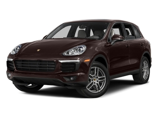 Mahogany Metallic 2016 Porsche Cayenne Pictures Cayenne Utility 4D AWD V6 T-Diesel photos front view