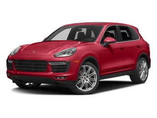 Carmine Red 2016 Porsche Cayenne Pictures Cayenne Utility 4D AWD V8 Turbo photos front view
