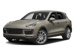 Palladium Metallic 2016 Porsche Cayenne Pictures Cayenne Utility 4D AWD V8 Turbo photos front view