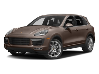 Umber Metallic 2016 Porsche Cayenne Pictures Cayenne Utility 4D AWD V8 Turbo photos front view