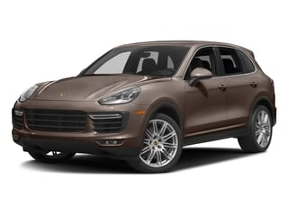 Umber Metallic 2016 Porsche Cayenne Pictures Cayenne Utility 4D S AWD V8 Turbo photos front view
