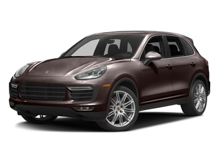 Mahogany Metallic 2016 Porsche Cayenne Pictures Cayenne Utility 4D AWD V8 Turbo photos front view